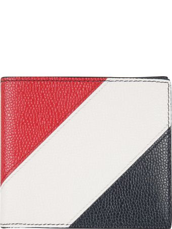 Thom Browne Diagonal Stripe Wallet