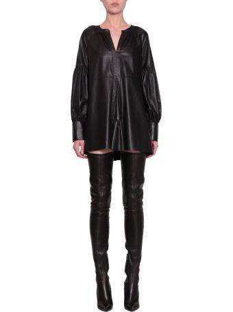 WANDERING Nappa Leather Dress