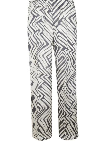 Peserico Printed Trousers