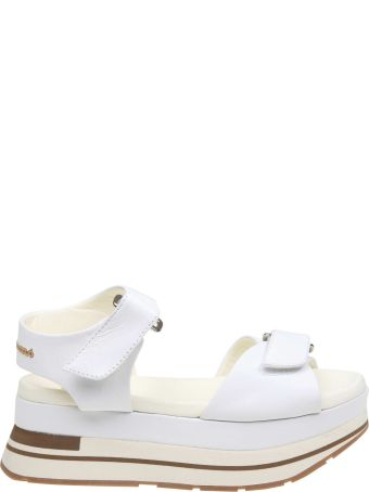 Manuel Barcelò Manuel Barcelo' Sandal In White Leather