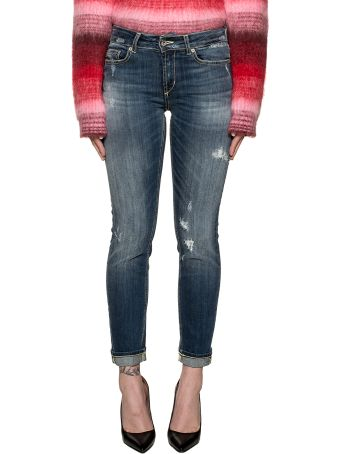 Dondup Blue Monroe Denim Jeans