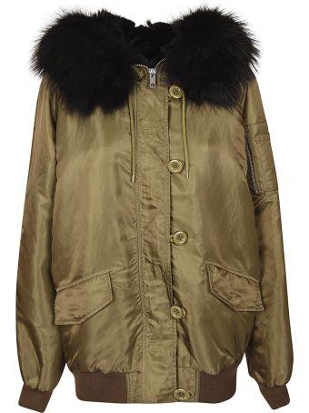 S.W.O.R.D 6.6.44 S.w.o.r.d. Fur Trimmed Jacket