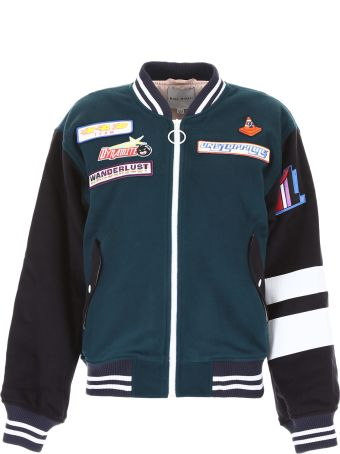 Mira Mikati Adrenaline Seekers Bomber Jacket