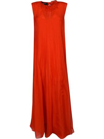 Rochas Pleated Dress