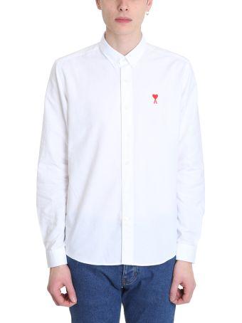 Ami Alexandre Mattiussi White Cotton Shirt