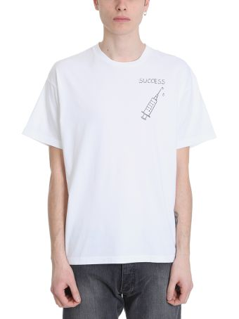 Riccardo Comi Succes White Cotton T-shirt
