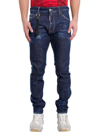 Dsquared2 Blu Cadet Wash Cool Guy Jeans
