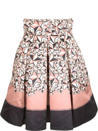 Elisabetta Franchi Celyn B. Star Print Skirt