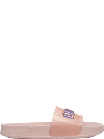 Puma Pink Leadcat Glitter Princess Sandal