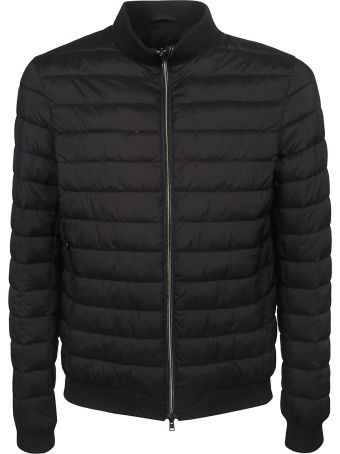 Herno Zipped-up Quilted Bomber