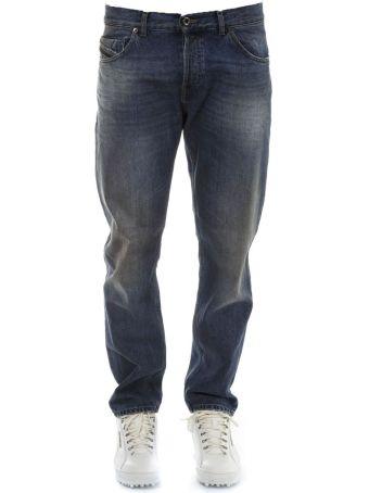Diesel Black Gold Denim Cotton Jeans