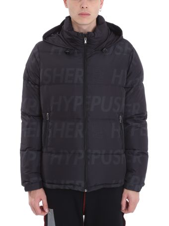 OMC Black Nylon Down Jacket