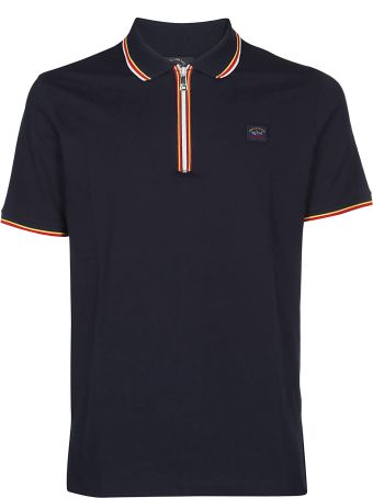 Paul&Shark Striped Detail Polo Shirt