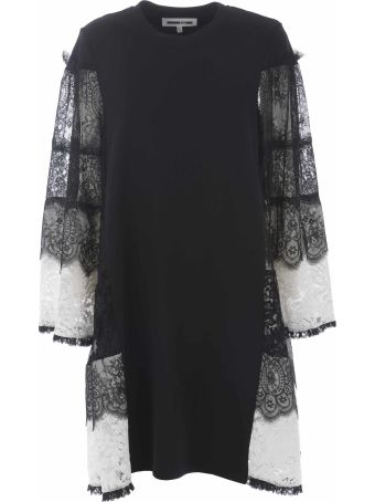 McQ Alexander McQueen Lace Striped Dress