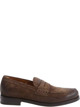 Doucal's Vintage Suede Loafers