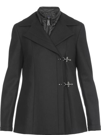 Fay Coat With Vest