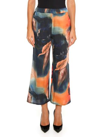 Ermanno Gallamini Printed Trousers