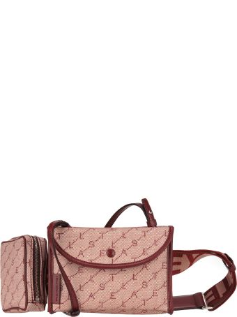 Stella McCartney Stella Mccartney Monogram Canvas Belt Bag