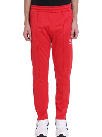 Hummel Red Cotton Trousers
