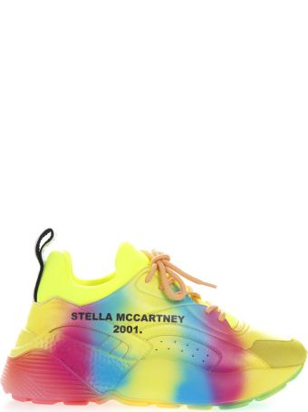 Stella McCartney Eclypse Sneakers In Rainbow Eco Leather