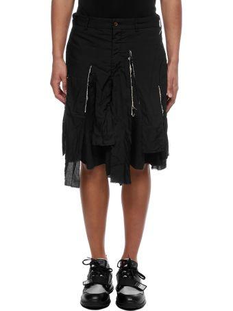 Comme Des Garçons Homme Plus Asymmetric Shorts