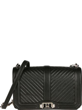 Rebecca Minkoff Chevron Quilted Love Shoulder Bag