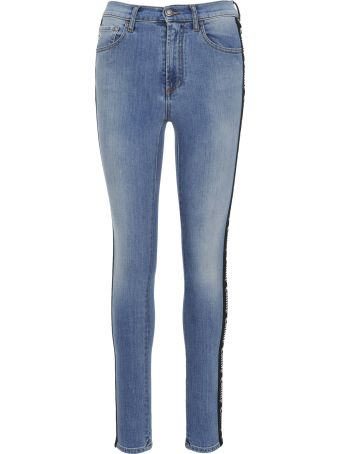 Marcelo Burlon Vintage Wash Skinny Jeans