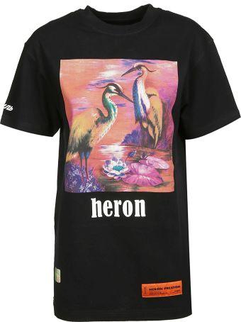 HERON PRESTON Graphic T-shirt