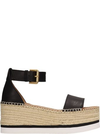 See by Chloé Glyn Wedge Sandals