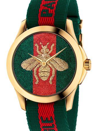 Gucci 'g-timeless Garden Le Marcgè Des Mervelles' Watch