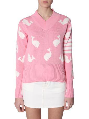 Thom Browne V-neck Sweater