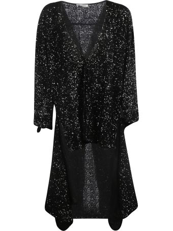 ATTICO Sequined Asymmetric Dress