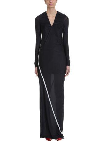 Y/Project Condom Contrast-trim Stretch Dress