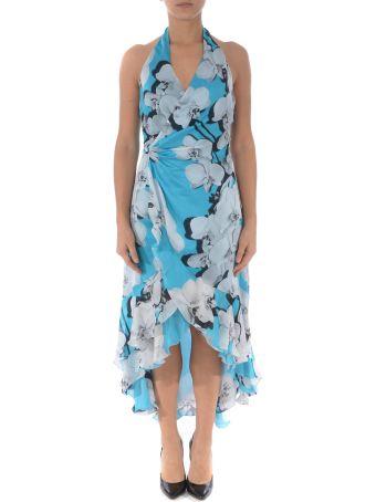 Roberto Cavalli Floral Print Wrap Dress
