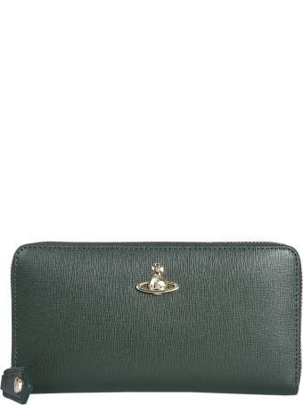 Vivienne Westwood Victoria Zip Around Wallet