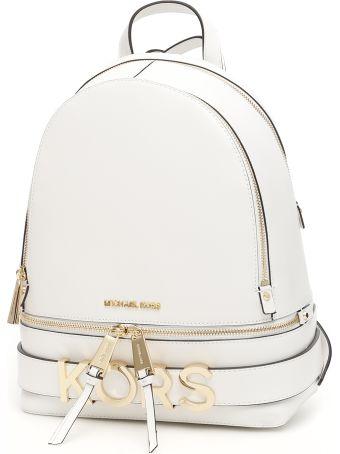 MICHAEL Michael Kors Rhea Lettering Backpack