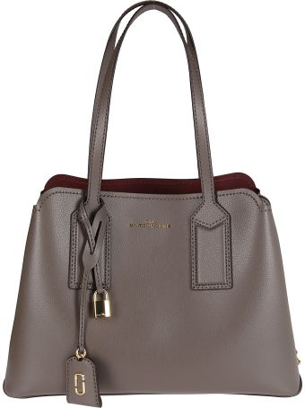 Marc Jacobs Brown Leather The Editor Tote Bag