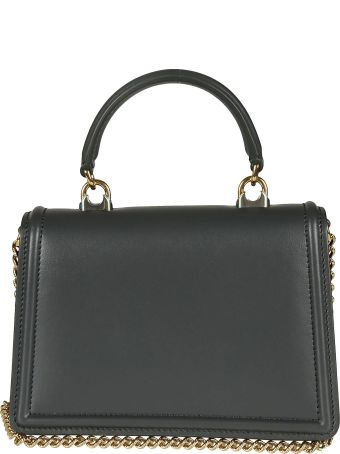 Dolce & Gabbana Heart Plaque Flap Shoulder Bag