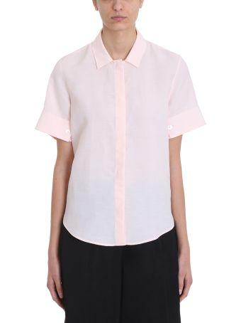 Jil Sander Giuditta Short-sleeved Twill Shirt