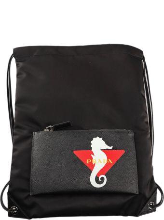 Prada Backpack Tessuto+saffiano