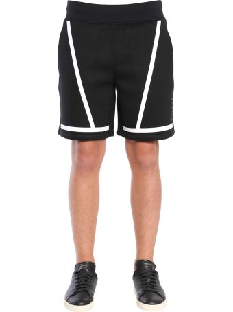 BLACKBARRETT by Neil Barrett Viscose Shorts