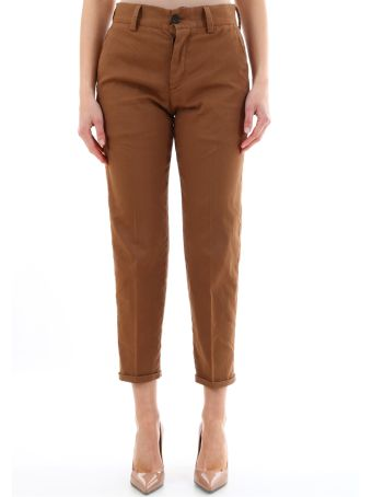 PT01 Brown Chino Trousers