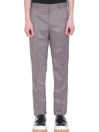 GMBH Grey Polyester Pants