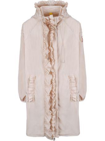 Moncler Genius Ruffled Hooded Jacket