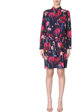 PS by Paul Smith Chemise With Urban Jungle Print