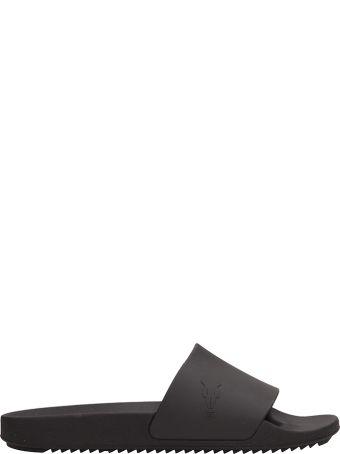 DRKSHDW Black Rubber Slide