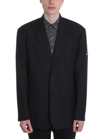 Balenciaga Black Wool Oversize Jacket