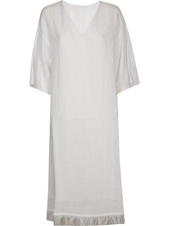 Fabiana Filippi Frayed Hem Long Dress