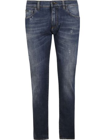 Dolce & Gabbana Classic Faded Jeans