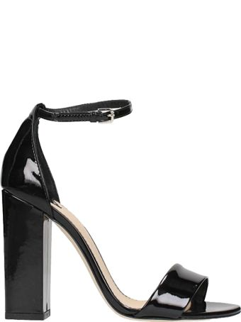 The Seller Black Patent Leather